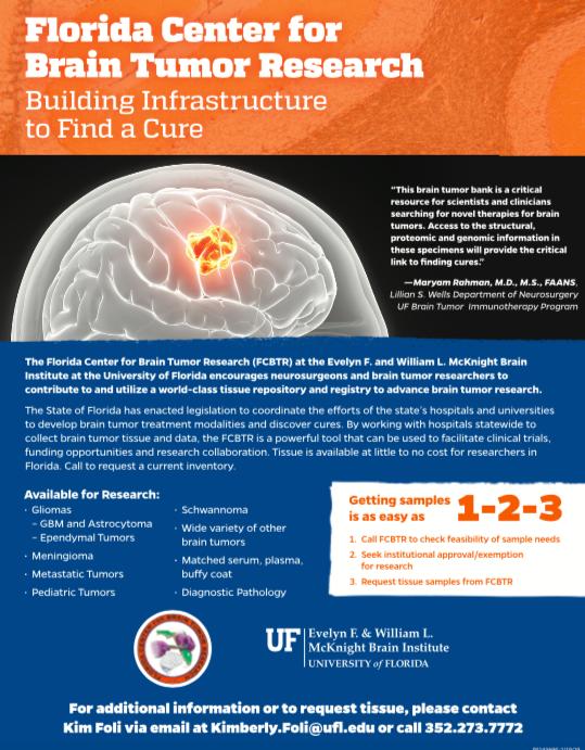 FCBTR Brain Tumor Flyer